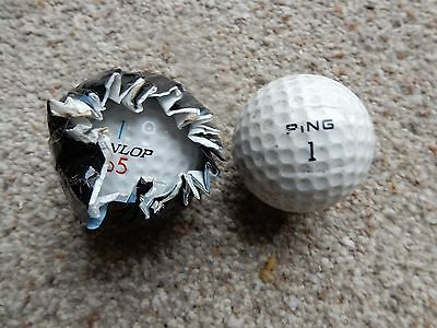 Ping Ball & Dunlop 65 in original wrapper