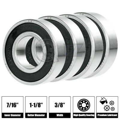 4x 1652-2RS Ball Bearing 2.5in x 1.125in x 0.625in Free Shipping 2RS RS