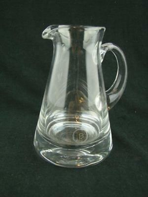 Gorgeous Iconic Dartington Crystal Milk Jug With Original Sticker