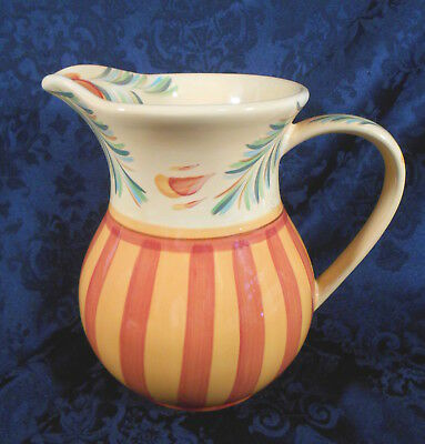"SOUTHERN LIVING AT HOME Sienna 7 3/4"" Tall Ceramic Pitcher by Gail Pitman"
