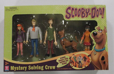 Scooby-Doo! Mystery Solving Crew 5 Pack New MIB