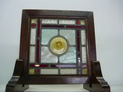 28 Antique Stained glass  British Victorian Edwardian  1890's Japan F/S