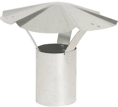 Imperial Mfg Group Usa GV0589 Galvanized Round Vent Cap, 6-In.