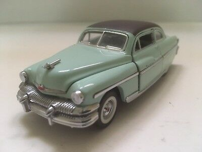 Franklin Mint 1:43 Diecast 1951 Mercury Monterey Two-Door Coupe Toy Car Collect