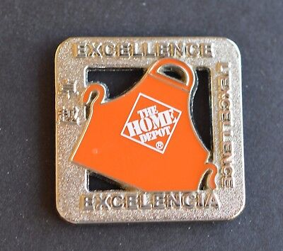Home Depot Excellence Apron Pin