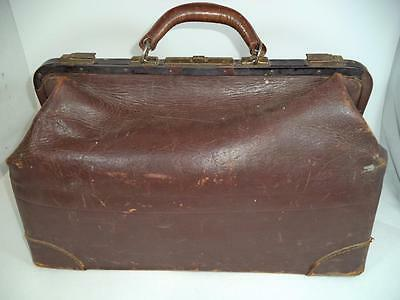 Beals & Selkirk Trunk Medical Doctor Bag Leather Cowhide #18 333