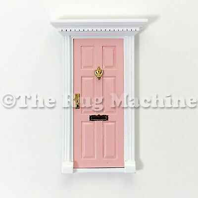 MAGICAL FAIRY DOOR - PALE PINK Wooden Miniature Doll Size|Aussie Company **NEW**