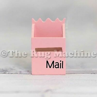 MAGICAL FAIRY MAILBOX - PALE PINK Wood Miniature Doll Size|Aussie Company **NEW*