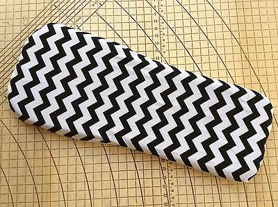 Bugaboo Cameleon fitted sheet for carrycot bassinet Black and white chevron