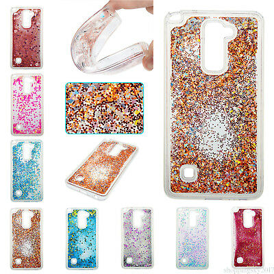 Bling Liquid Glitter Quicksand Soft Case Cover For LG Stylus 2 LS775/K7/K8 DT6