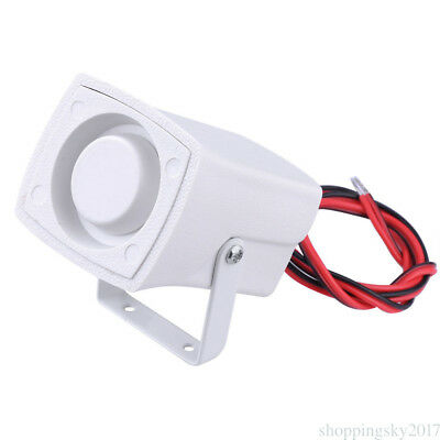 Durable Wired Mini Horn Siren Home Security Alarm System 120dB DC 12V Top Grade