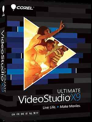 Corel VideoStudio Ultimate X9 for windows Youtube video editing software editor