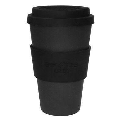 Ecoffee Cup Kerr and Napier with Black Silicone 14oz Eco Friendly Reusable Drink