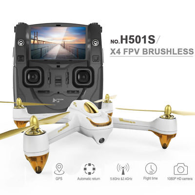 Original Hubsan H501S X4 FPV 5.8G 1080P HD Camera GPS Quadcopter  RTF UK Stock