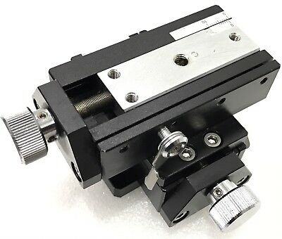 CHUO SEIKI RX-X.Y Linear Stage Positioner, Manual Stage, XY Axis,Travel ±7.5mm
