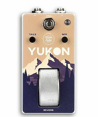 CLASSIC AUDIO EFFECTS - Yukon Reverb Roller Guitar Pedal