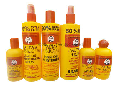 Paltas B.K.C Hair Care and Treatment Products