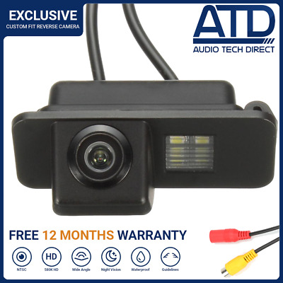 Direct Fit RearView Reversing RCA Reverse Camera For Ford Galaxy Mk3 (2006-2010)