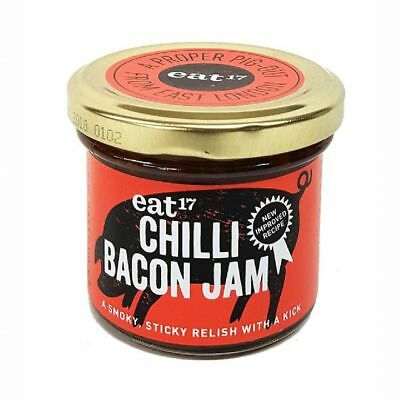 Chilli Bacon Jam - eat17 - Chilli Wizards NEW IN