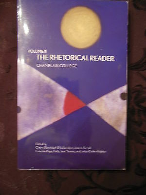 The borzoi college reader 770 picclick volume i the rhetorical reader champlain college 0536521581 fandeluxe Choice Image