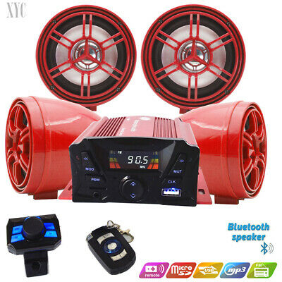 3/' UTV//ATV//Snowmobile//Marine Amplified Speaker System Bluetooth