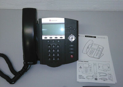 Telephone SIP voip POLYCOM IP450  warranty 3 months   PoE standard
