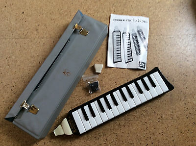 Hohner Melodica Piano 26 - 3x Mundstücke - Made in Germany