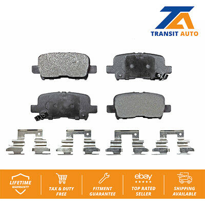 Acura MDX 01-06 Honda ODYSSEY 02-04 PILOT 03-08 Set of Rear Ceramic Brake Pads