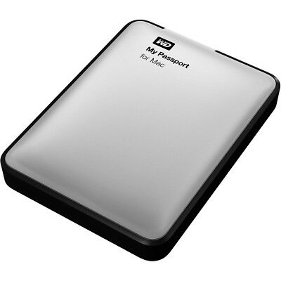 "WD My Passport for Mac 2TB 2,5"" USB 3.0 (WDBZYL0020BSL) externe Festplatte"