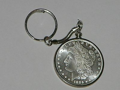 Novelty 1885CC Morgan Dollar Coin Key Chain READ DESCRIPTION BEFORE PURCHASE