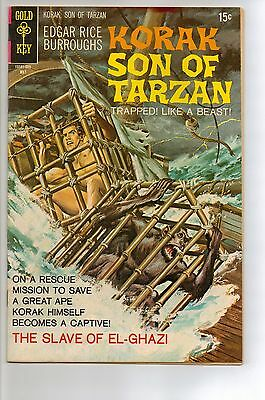 Korak, Son of Tarzan # 35 - FN- 5.5 - 1970 Gold Key
