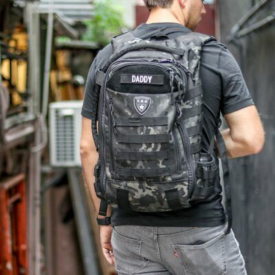 TBG Daypack 3.0 Tactical Diaper Bag Backpack + Mat | Tactical Baby Gear®