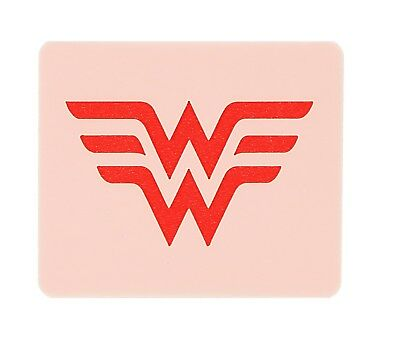 Wonder Woman Logo Face Painting Stencil 7cm x 6cm Washable and Reusable