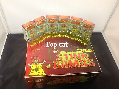 18 Glass vial stink bombs smells of rotten eggs have some fun let one go