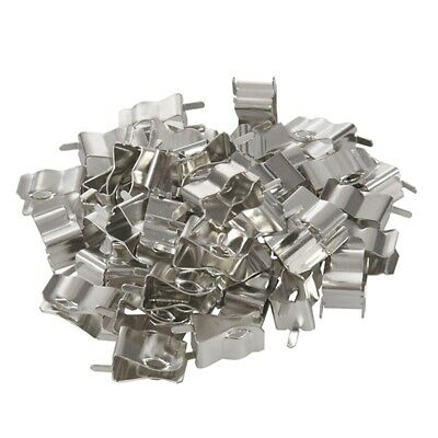 50Pcs Electronic Glass Fuse Tube Clip Clamp for 6 x 30mm Fuse R6L2