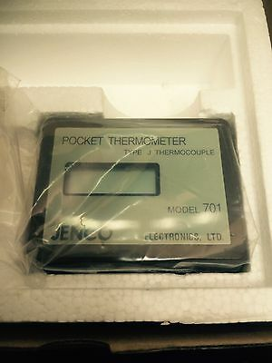 Jenco 701 Pocket Digital Thermocouple Thermometer