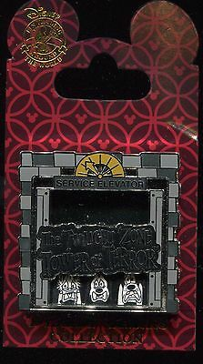 Twilight Zone Tower of Terror Service Elevator Disney Pin 108440