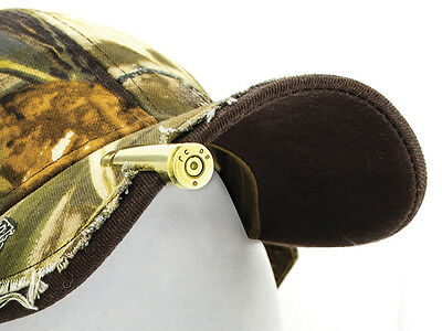 Lucky Shot .308 Caliber REAL bullet hat clip GIFT Unisex Cool Fashion Accessory