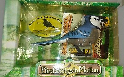 Takara Breezy Singers Bird Songs in Motion Blue Jay Authentic he sounds & moves