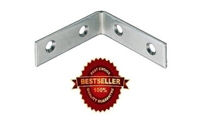 RIGHT ANGLE METAL L BRACKET 50×16mm CORNER BRACE FIXING SUPPORT REPAIR BRACKET