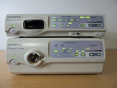 Olympus CV-180 Video Processor & CLV-180 Light Source Evis Exera II Endoscopy