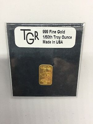 .999 fine gold 1/50 Troy Ounce with Serial Number and Hologram Certificate