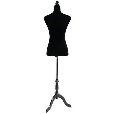 Stand Half-Length Fiberglass & Brushed Fabric Coating Lady Model for Clothing...