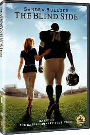 The Blind Side, Acceptable DVD, Sandra Bullock, Tim McGraw, Kathy Bates, Quinton