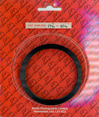 Metal Step-Down Ring, 77mm to 67mm