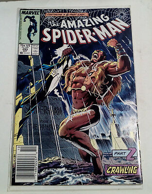 THE AMAZING SPIDERMAN #293 (Oct 1987, Marvel) KRAVEN THE HUNTER - NEWSSTAND