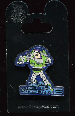 Buzz Lightyear Lasers Set to Awesome Disney Pin 108608