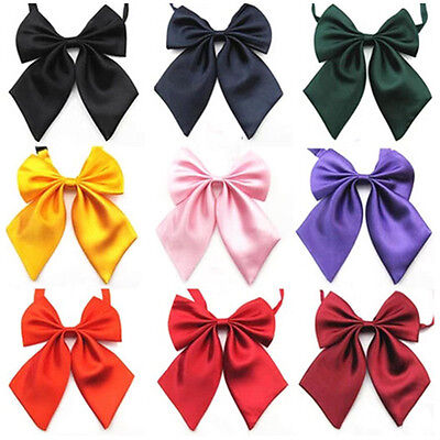 Women Lady Girls Butterfly Bowtie Silk Bow Ties Formal Bow Tie New Fashion