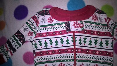Christmas Time Sleeper Size 0-3 Months