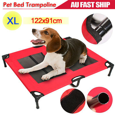 Extra Large Heavy Duty Pet Dog Bed Trampoline Hammock Sturdy Steel Frame Cover